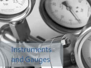 Instruments and Gauges